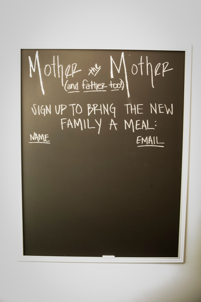 Postpartum Meal Sign-Up