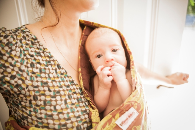 Baby In Peanut Shell Sling