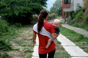 Baby Carried in a Sling