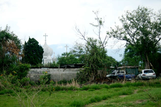 Church Behind the Field