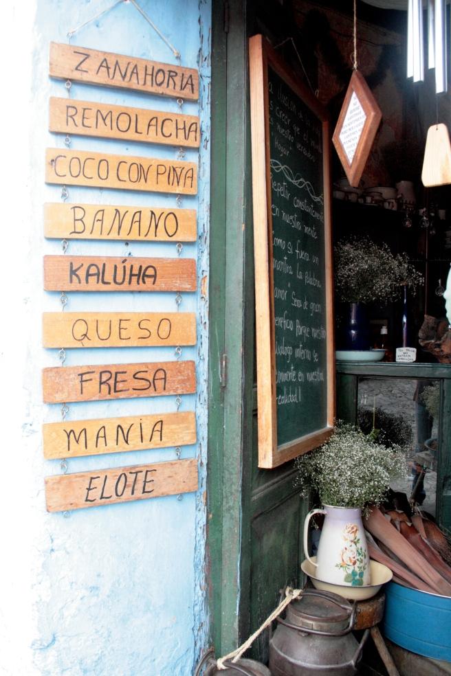 Guatemalan Ice Cream Shop