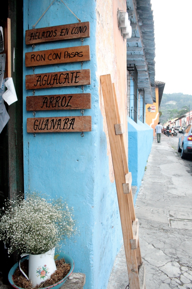 Guatemalan Ice Cream Shop