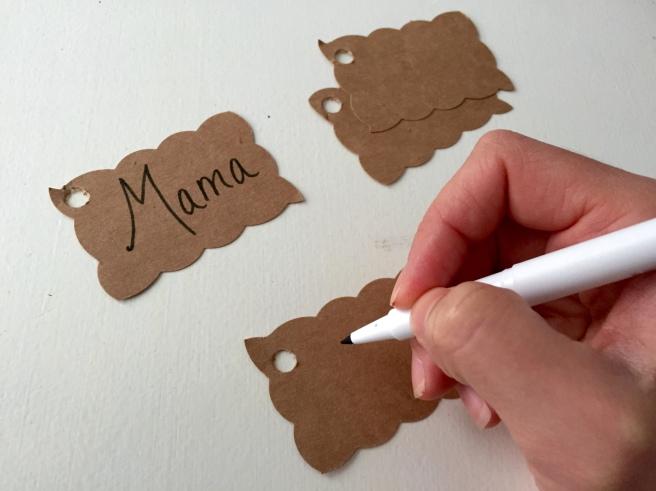 Stocking Name Tags